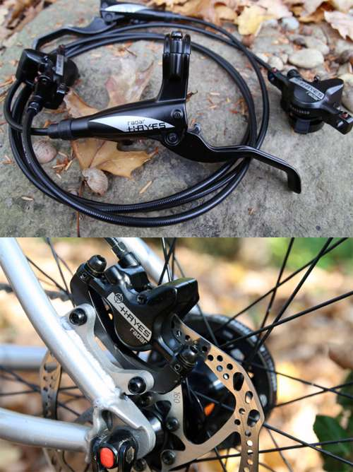 Hayes Radar disc brake for bicycle