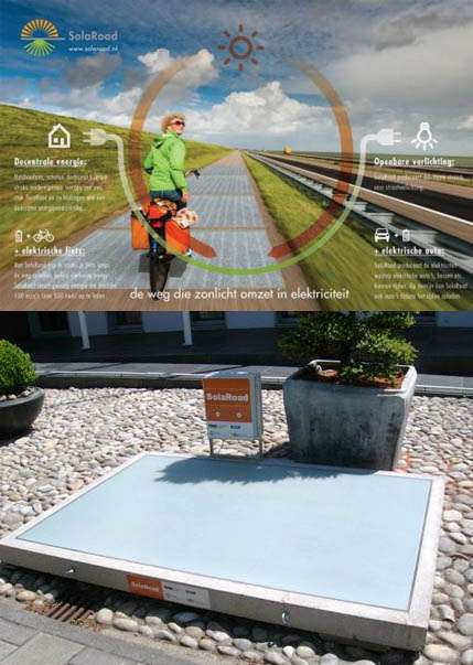 World's first solar cycle path to open in the Netherlands