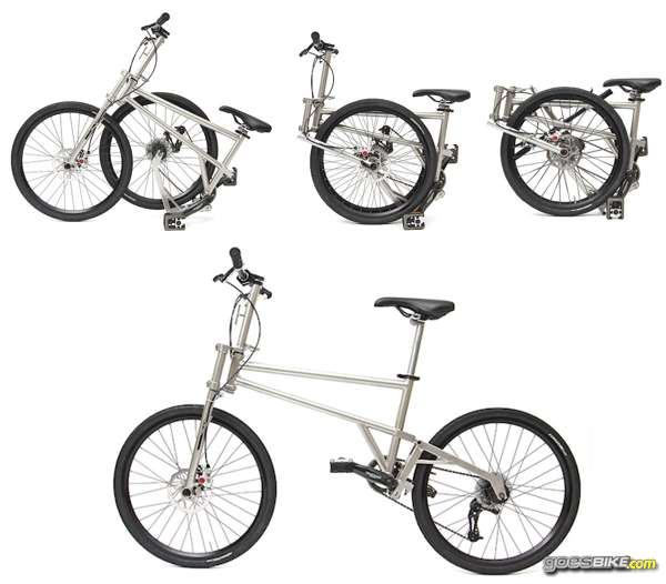 Helix Folding Bike Titanium