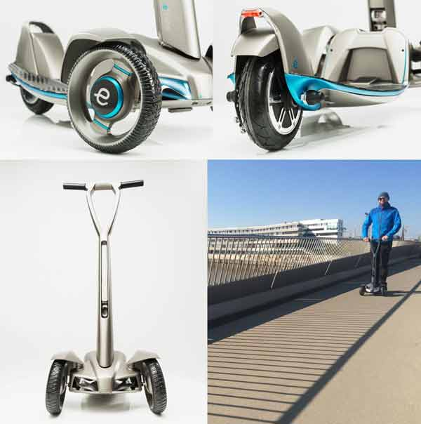 Floatility electric scooter otoped listrik roda 3