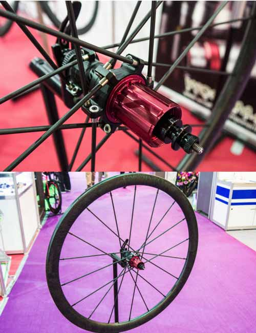 Woodman wheelset carbon