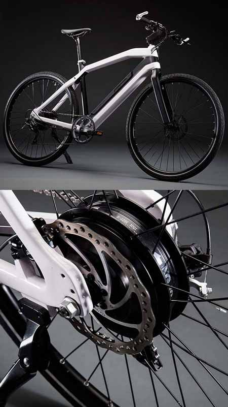Zeitgeist City Carbon Fiber Electric Bike