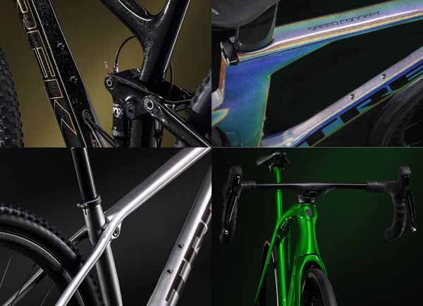 Trek Project One ICON cat custom Blink Blink dari pabrikan