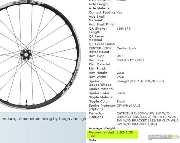 adventure bike: Ukuran ban vs wheelset dan Rim atau velg